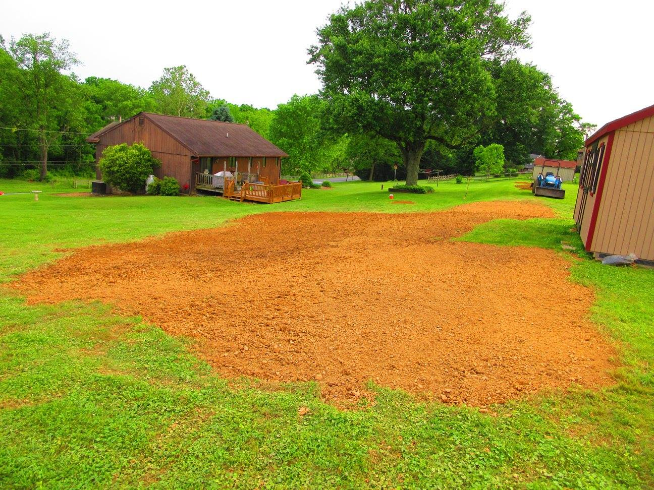 grading and excavating
