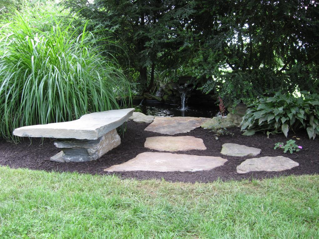 Decorative landscape design for Water feature design